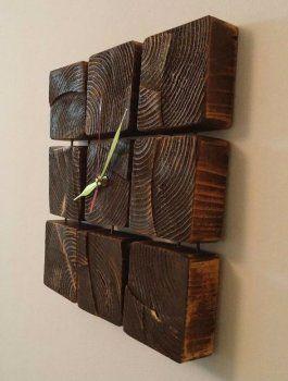 Делаем деревянные часы своими руками
