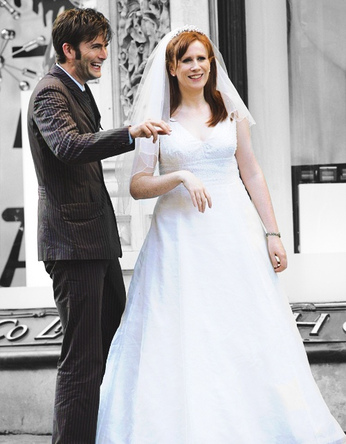 David Tennant Tenth Doctor And Catherine Tate Donna