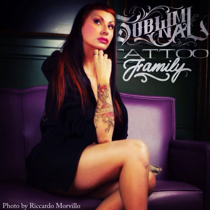 Mari Fina! Subliminal Tattoo Family  http://www.subliminaltattoo.it  #subliminaltattoofamily #marifina #tattooartist