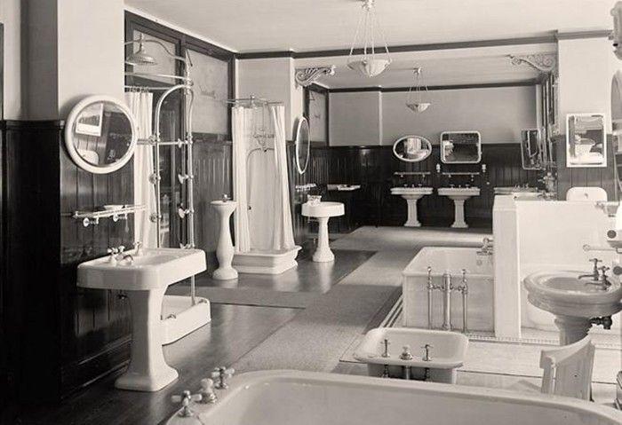 bathroom history - vintage photo - foto storiche di bagni (14)