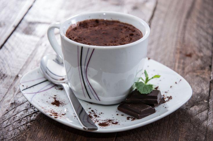 El mejor chocolate caliente de Nutella que te puedes tomar en épocas de frío.