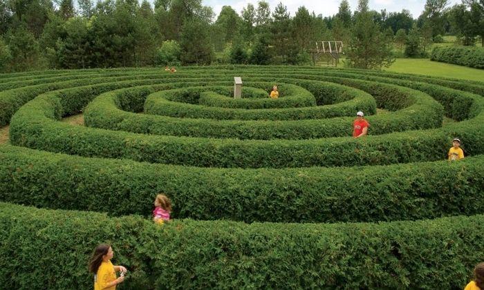 Mazes at Saunders Farm in Ottawa. Photo credit: Ottawa Tourism