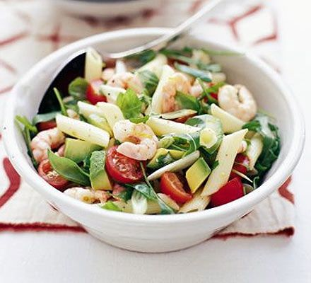 A tasty and superhealthy summer salad