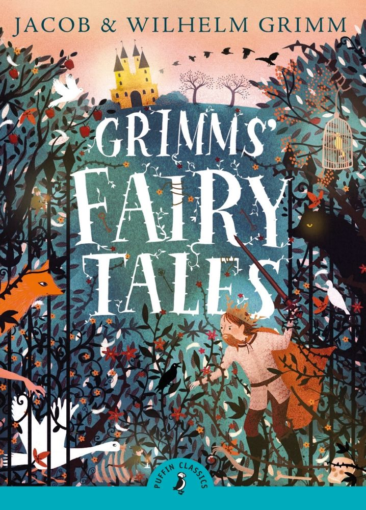 Our Puffin Classics edition of GRIMMS' FAIRY TALES.