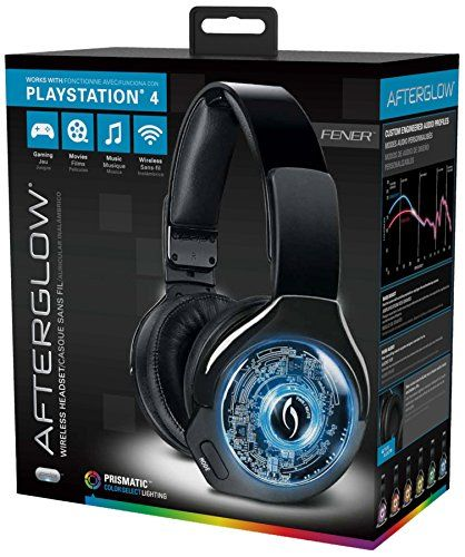 Beautiful PS AG WIRELESS HEADSET FOR PS BLK