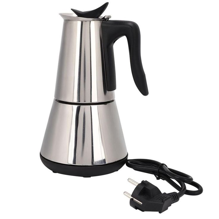 Electric coffee maker 6cups300ml 304 stainless steel