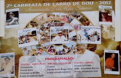 Festas de Carros de Boi e a cultura do sertanejo: Carreata de Carro de Boi Três Reis Santos em Vazan...