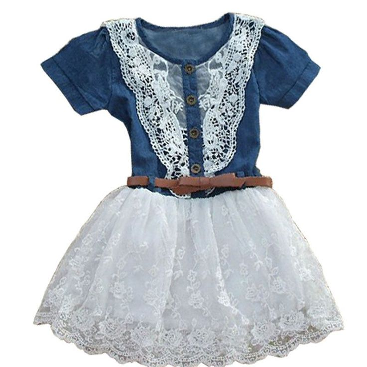 Free shipping cheap children clothes kids dresses for girls spring summer children's clothing style baby girl christening gowns