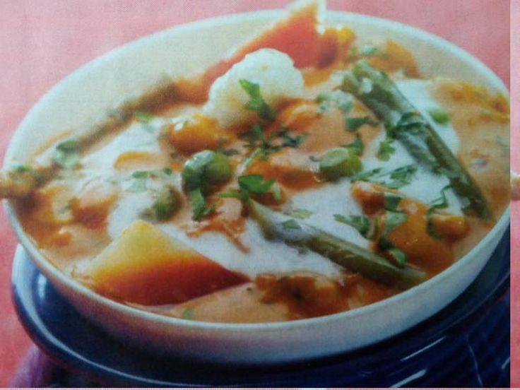 मिक्स बेजिटेबल सब्जी (Mixed Vegetable Recipe) - Powered by @huntrecipe