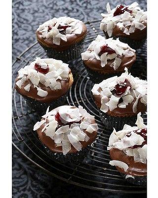 Caroline Velik's Lamington Cupcakes Recipe