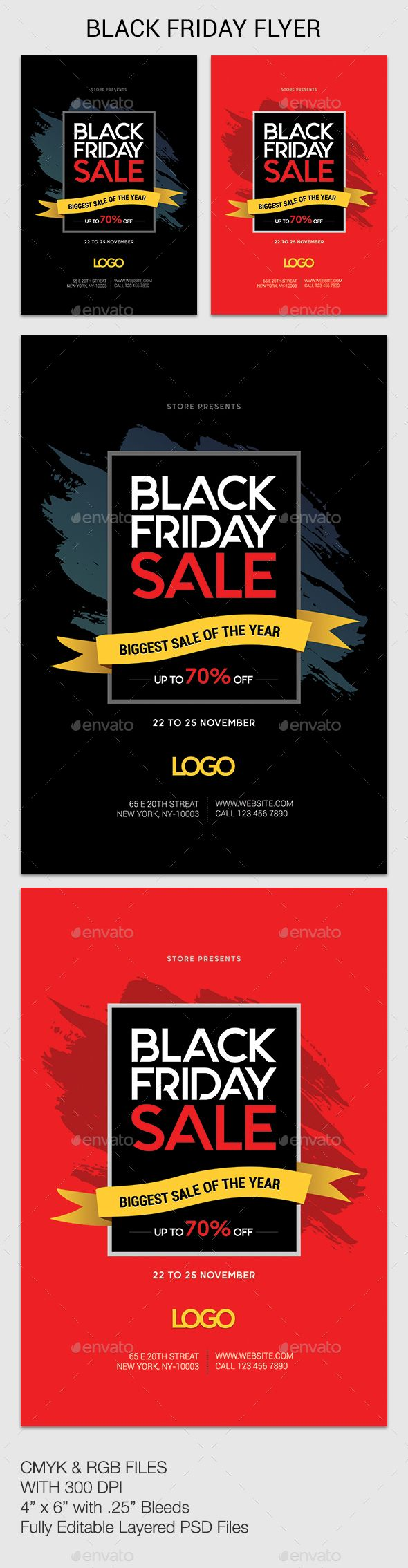 #Black Friday - #Events #Flyers