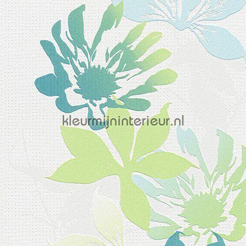 Flowers in bloom behang 958803 uit de collectie Esprit 10  AS Creation is verkrijgbaar bij kleurmijninterieur