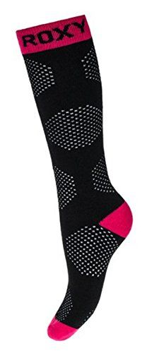 Roxy Womens Pack of 1 Thermal Ski Snowboarding Socks WTWSX034 LXL KVJ0 * Click on the image for additional details.(This is an Amazon affiliate link and I receive a commission for the sales)