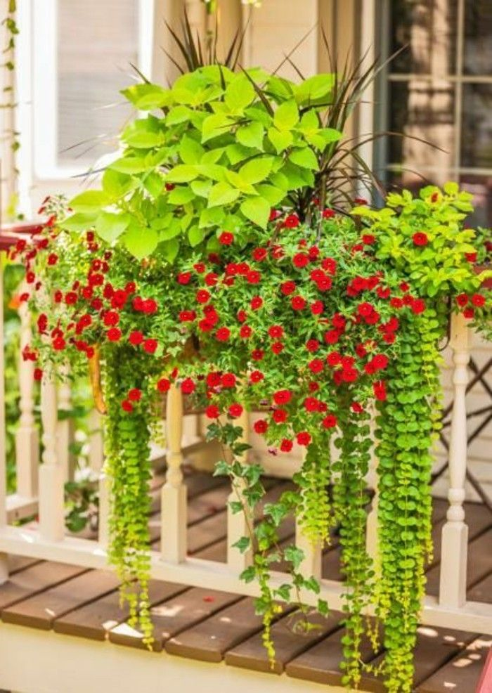 513 best det images on pinterest diy christmas decorations christmas deco and christmas decor - Idee deco balcon ...