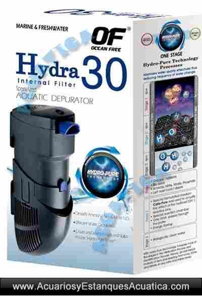 ** ENVIO GRATIS! 49.489€ ** Filtro interior HYDRA 30 http://acuariosyestanquesacuatica.com/equipamiento-acuario-dulce/114-filtro-interior-hydra-30-acuarios-dulce-y-marinos.html