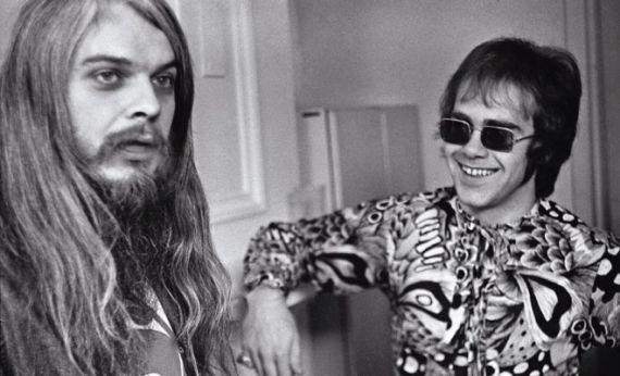 Elton John with Leon Russel