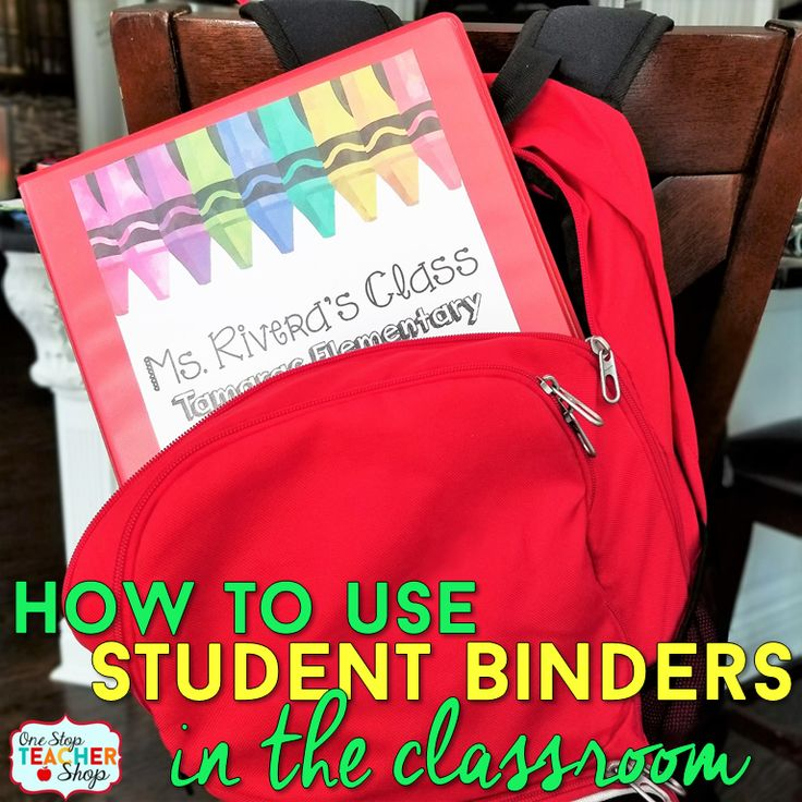 Student Binders are the perfect way to keep students organized. See how I use student binders as student agendas, student data trackers and more!