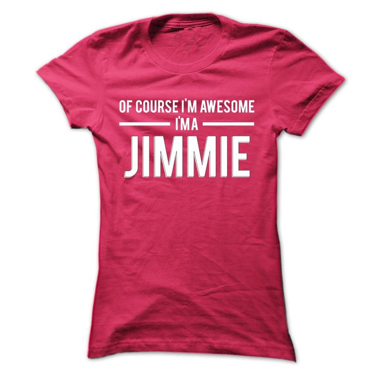 Team Jimmie - Limited ⓪ EditionIf youre a Jimmie then this shirt is for you! Whether you were born into it, or were lucky enough to marry in, show your pride by getting this limited edition shirt today. Makes a perfect gift!Jimmie, team Jimmie, a Jimmie, name Jimmie