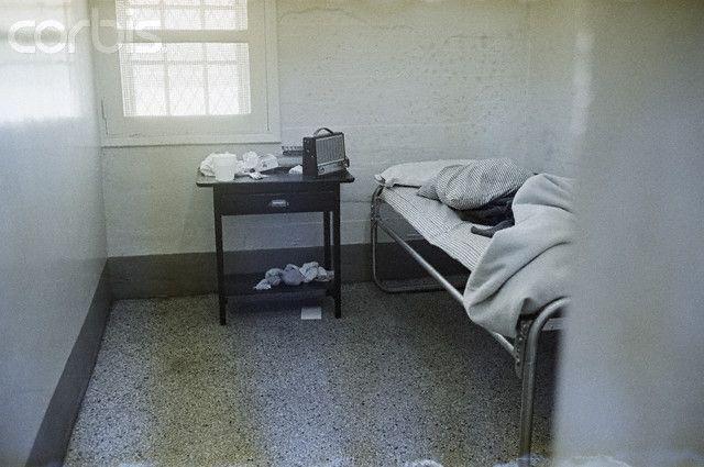 Prison Room of Boston Strangler Albert DeSalvo