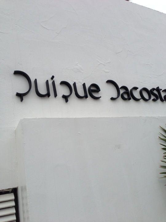 Quique Dacosta Restaurant. 3 estrellas Michelin.