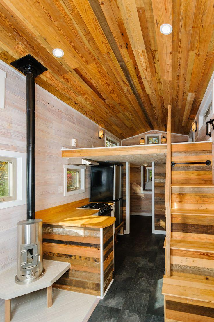 134 besten tiny houses bilder auf pinterest kleine h user kleines zuhause und bauwagen. Black Bedroom Furniture Sets. Home Design Ideas