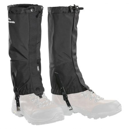 Kathmandu gaiters ideal for hiking and daywalking. Designed to protect your legs from harsh, wet conditions.