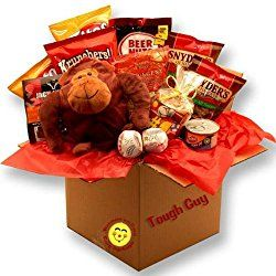 tough guys valentines day snack gift package
