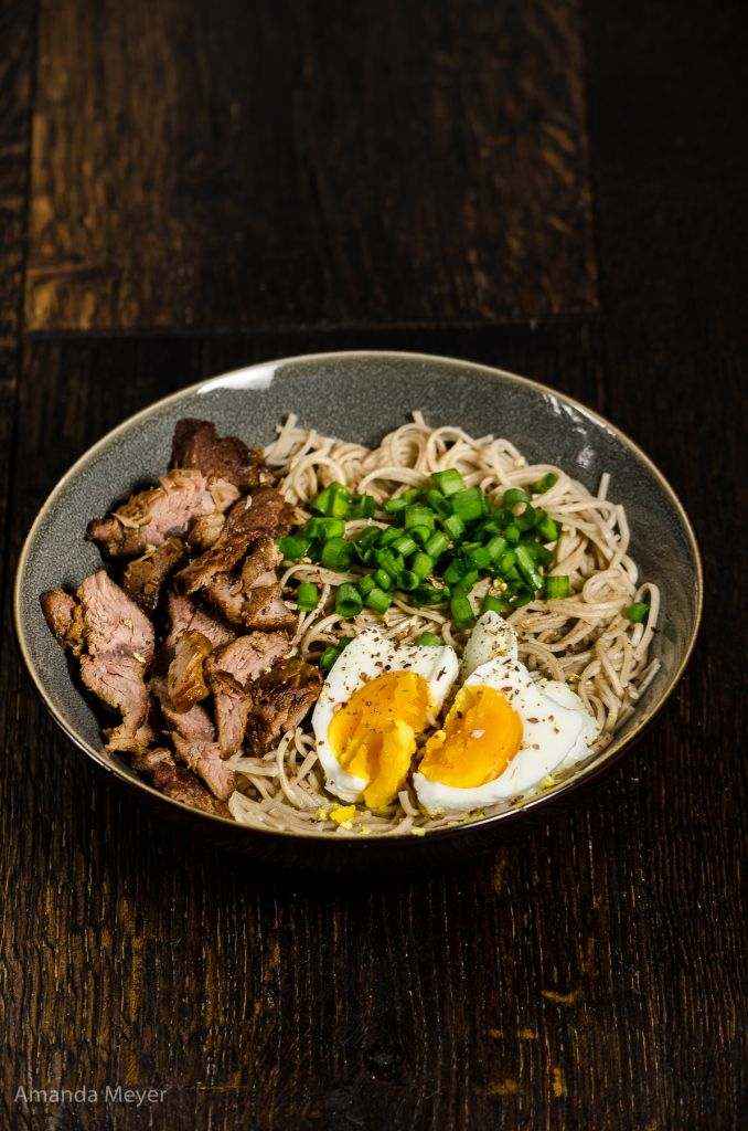 Buckwheat Noodles With Red Braised Beef From Amandau0027s Ninja Kitchen