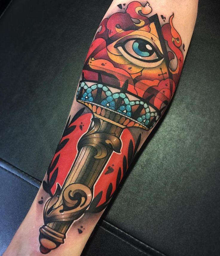 Neo Traditional Tattoo Artwork  Artist IG: @kasasink