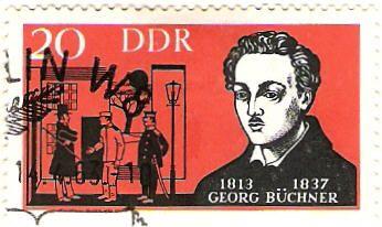Literature on Stamps: Georg Buchner
