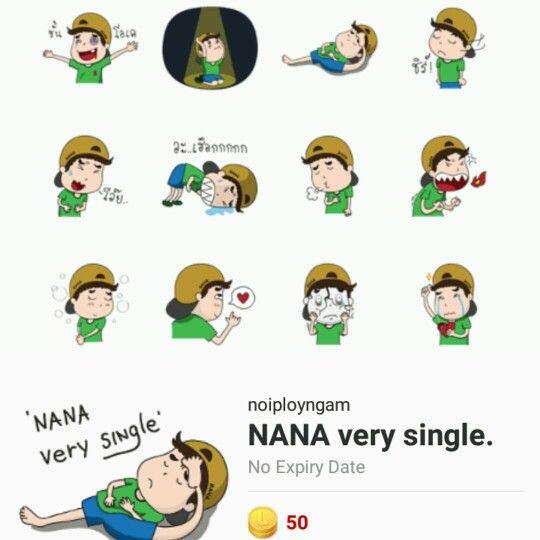 Line linethailand creator nana single thai version http