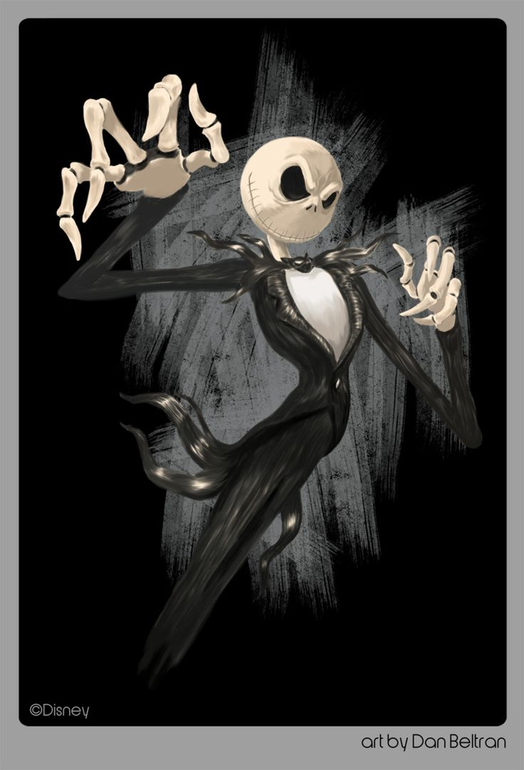 Jack Skellington by Dan Beltran
