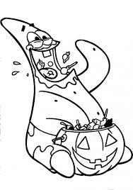Spongebob squarepants coloring pages halloween goblin ~ Image result for omalovánky spongebob | Omalovánky - kluci ...