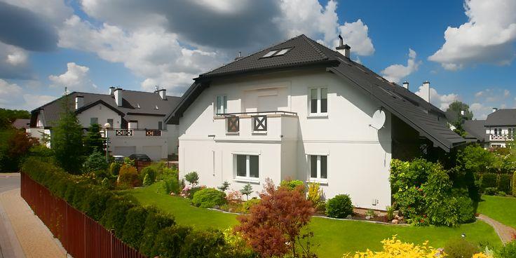 Dom jednorodzinny na warszawskich Bielanach (ul. Perseusza).