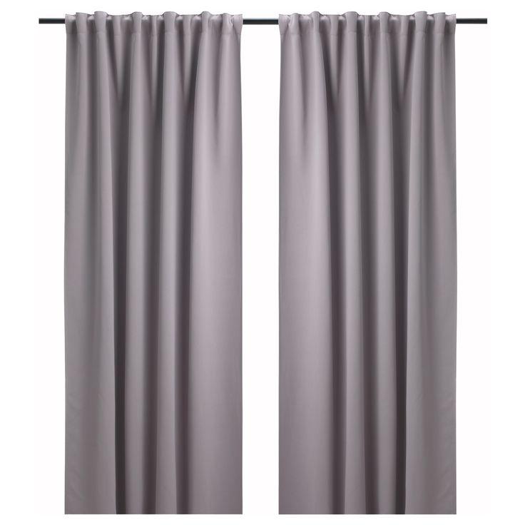 Ikea Bollolvon Block Out Curtains 1 Pair Curtains Pinterest Curtains 1 And Ikea