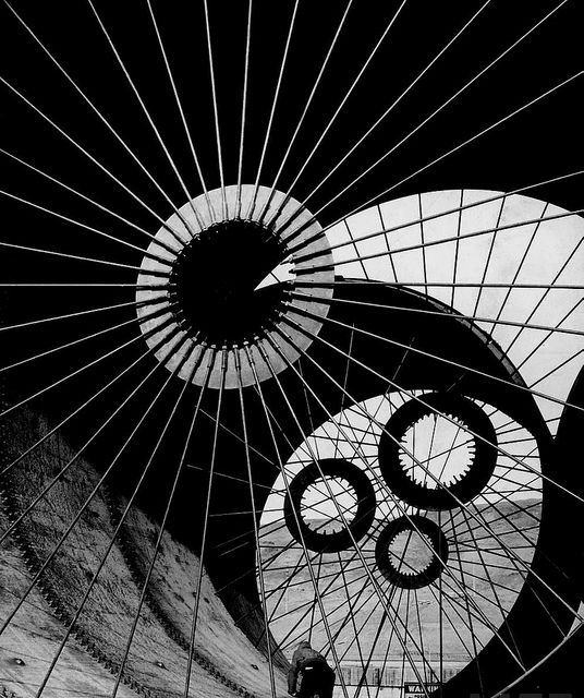 And again: Margaret Bourke-White #photography @Qomomolo, Fort Peck Dam, 1936