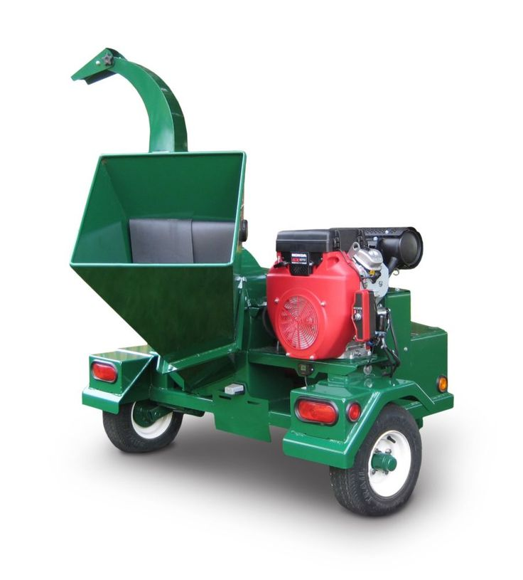 Surge-Master 10-inch 24 HP Gas Powered Wood Chipper