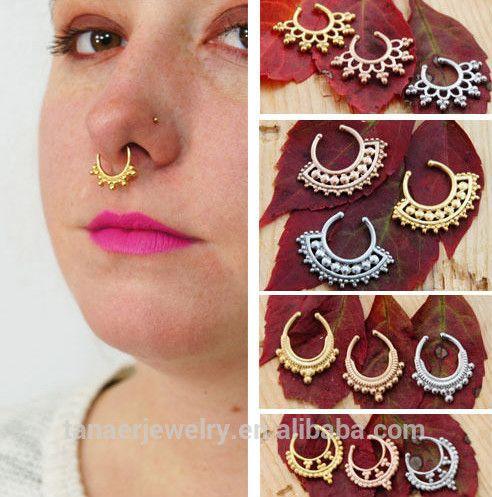 fake nose rings