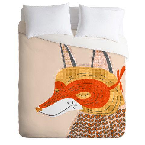 Mummysam Mr Fox Duvet Cover