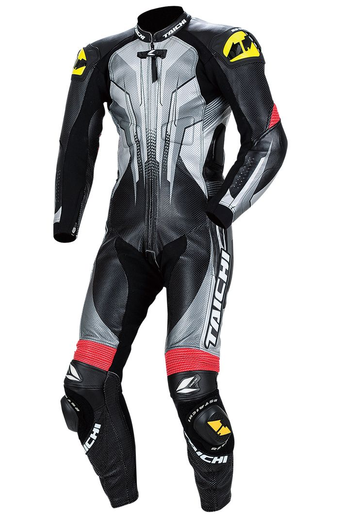 RS Taichi R073 Racing Leather Black/Gunmetal Suit