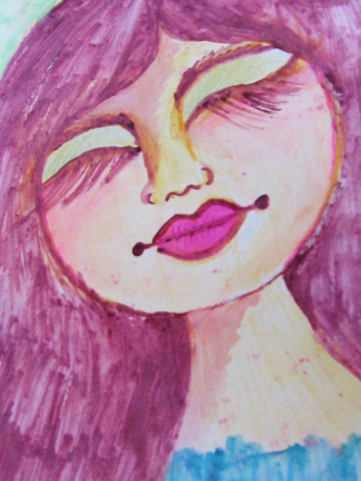 akvarel pastels