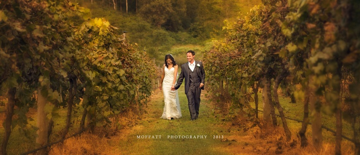 Richard and Ashleigh beautiful wedding at O'Reilly's Winery.