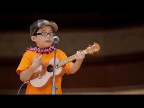 8 Year old Aidan Powell performing for Ukulele Festival 2010 doing his cover of Hey Soul Sister.