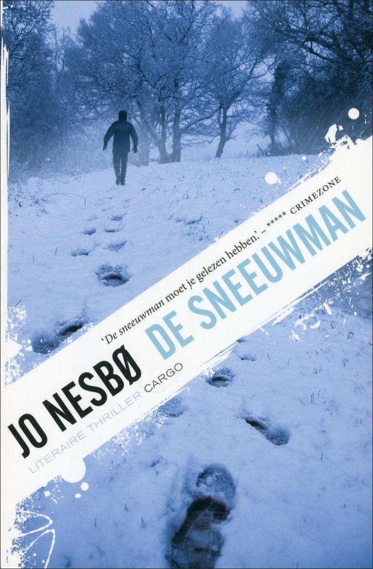 De Sneeuwman lees je echt in één ruk uit. Geweldig spannend en heel origineel. Het speelt in Oslo en Bergen. Tijdens de eerste sneeuw van het jaar worden er al decennialang vrouwen op mysterieuze wijze vermoord. Wie zit daar achter en waarom? Jo Nesbø is een meester in het misleiden.