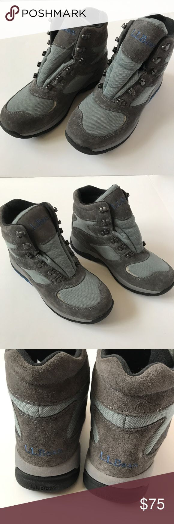LL Bean Primaloft Insulated Cold Hiking Boots Size: Women's 9W Color: Gray Style: Cold Weather Hiking Boot Condition: Boots are barely worn, very light wear. No laces included.   This item comes from a smoke-free and pet-free home.  Please review all photos before making your purchase.  I am happy to provide additional photos or measurements, just let me know! L.L. Bean Shoes Winter & Rain Boots