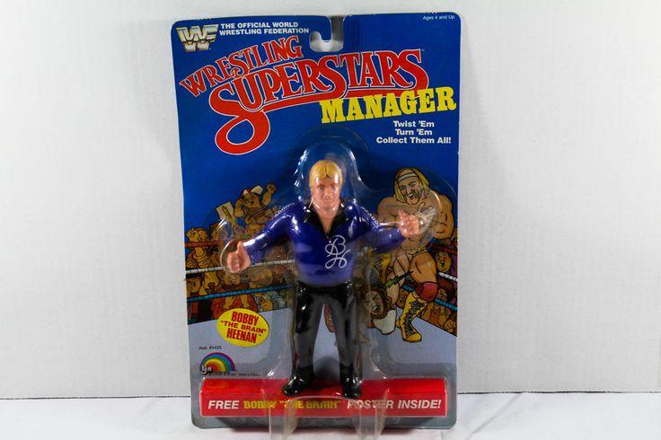SEALED VINTAGE LJN WWF WRESTLING SUPERSTARS Bobby Heenan Action Figure 1985 MOC