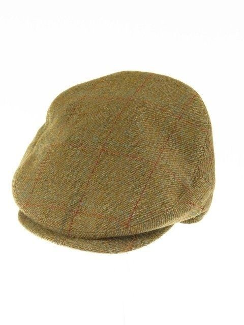 Herbert Johnson tweed flat cap XXL - 63cm - 7 3/4 - Tweedmans Vintage