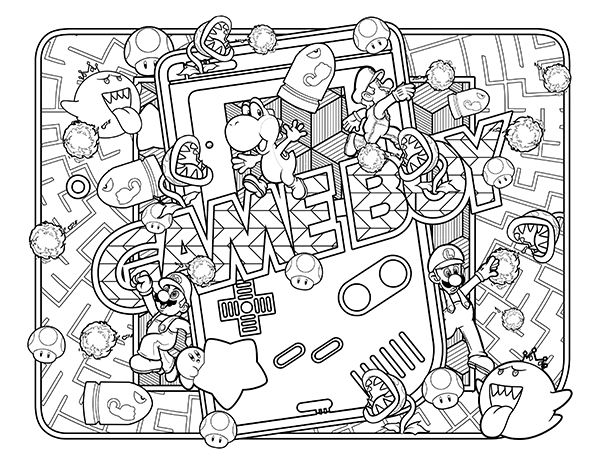 Image Result For 90S COLORING PAGES