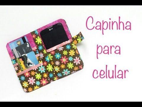 Capinha de Celular com Caixa de Leite - Como Fazer - DIY - Passo a Passo - Segredos de Aline - YouTube
