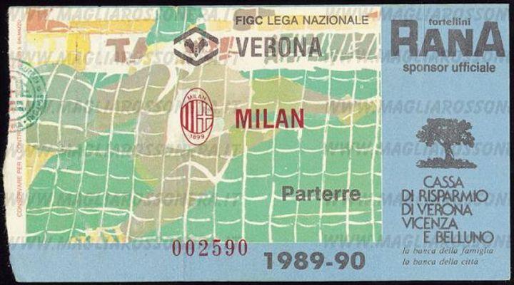 22 Aprile 1990: Il Milan e La Fatal Verona 2.0